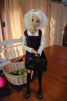 Smart Doll Ebony by Wendy Bailey