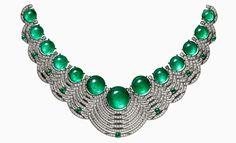 CARTIER. Necklace {Close up} #Cartier #RésonancesDeCartier #2017 #HauteJoaillerie #HighJewellery #FineJewelry