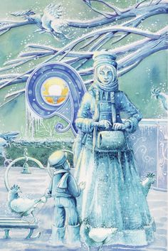 THE SNOW QUEEN BY KEVIN KIMBER #snow queen