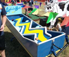 DIY skee ball carnival game - Google Search