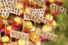 「OPENING RECEPTION」 @ BEARS TABLE(浅草) Happy Very Much http://happyverymuch.jp #weddingfood #partyfood #bearstable #happyverymuch