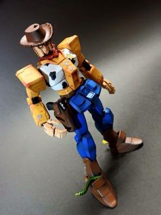 GUNDAM GUY: Disney's Toy Story x Gundam - Custom Builds