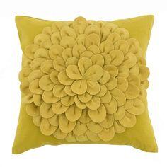 Alexander Ochre 43cm x 43cm Cushion   Dunelm