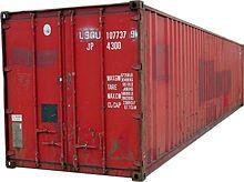 Intermodal container - Wikipedia, the free encyclopedia - Standard Sizes 8X8X40 8X8.5X40 8X9.5X48 8X9.5X53 8X10.5X48 8X10.5X53