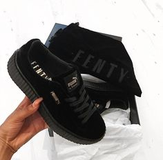 Velvet, velvet, velvet !!! http://us.puma.com/en_US/collections/collaborations/fenty-puma-by-rihanna