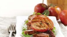 This crispy-skin duck with char-grilled apples is the perfect dish to impress your guests at your next dinner party.