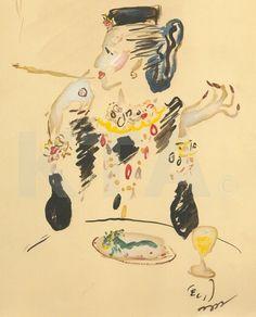 Cecil Beaton's portrait of Diana Vreeland