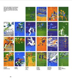 Poster for 72 Munich Olympics
