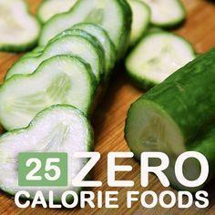 20 Zero Calorie Foods You Should Include In Your Diet