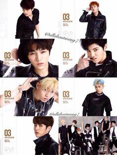 #Infinite #WooHyun #SungKyu #L #Myungsoo #SungJong #DongWoo #Hoya #SungYeol