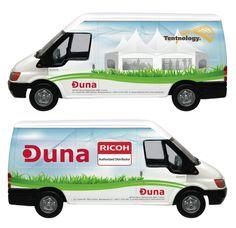 Duna Vehicle Branding