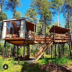 [New] The Best Home Decor Today (with Pictures) - These are the 10 best home decor today. According to home decor experts, the 10 all-time best home. House On Stilts, Tiny House Cabin, Cabin Homes, Tree House Plans, Cool Tree Houses, Tree House Designs, Bamboo House, Container Design, Hippie Home Decor
