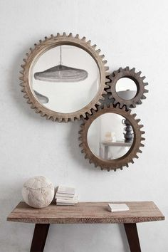 Mercana Cog Mirrors on http://www.hautelook.com/invite/feature I dig this look -- but I think it needs 4  . . .