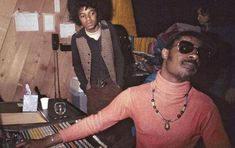 Classic Photo: Michael Jackson and Stevie Wonder