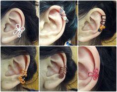 ear cuff diy #bow