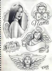 Enrique Castillo Drawings And Tattoos Lowrider Arte Magazine