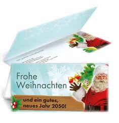 Günstige Weihnachtsgrußkarten mit gratis Vorlagen gestalten #weihnachtskarte #weihnachtsmann #grusskarten #karten Plastic Cutting Board, Papa Noel, Xmas Cards, Templates, Weihnachten