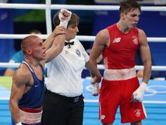 Michael Conlan lost to Russia's Vladimir Nikitin in a bantamweight quarterfinal match at the Rio Olympics on Tuesday, and the Irishman feels he was robbed. Rio Games, Summer Games, Referee, Rio 2016, Irish Men, Judges, Olympics, Wednesday, Rio De Janeiro