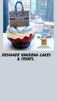Cupcakes Design, Satin Ice Fondant, Handbag Cakes, Cake Decorating Techniques, Birthday Woman, Gum Paste, Celebration Cakes, Beautiful Cakes, Yummy Cakes