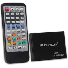 Amazon.com: Floureon Mini Multi Media Player Full-HD 1080P AV Out SD/SDHC Cards HDTV with Remote Control: Electronics