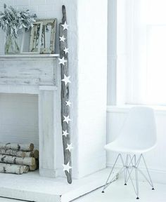 Cozy white interiors for a fresh start