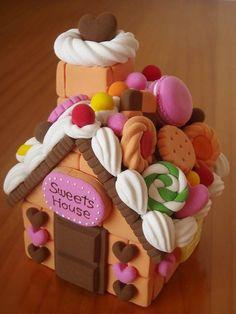 お菓子の家のキャンディーボックス画像1