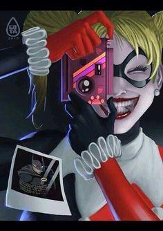 Harley Quinn - DC Comics - Gotham City - Harleen Quinzel - Arkham Asylum - Visit to grab an amazing super hero shirt now on sale! Life Is Strange, Hearly Quinn, Der Joker, Daddys Lil Monster, Street Art, Fanart, Batman Universe, Dc Universe, Animation
