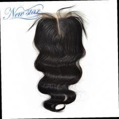 51.24$  Watch here - http://alit16.worldwells.pw/go.php?t=884847373 - alibaba new star brazilian virgin human hair lace closure middle part body wave 10-20inch 4*4 inches lace size DHL free shipping 51.24$