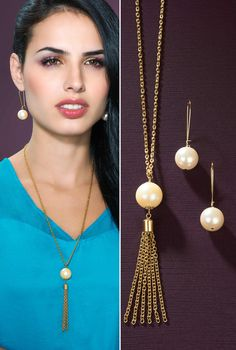 Perlas elegantes Joyería Dupree Colombia Drop Earrings, Jewelry, Style, Fashion, Jewelry Trends, Pearls, Feminine Fashion, Colombia, Elegant