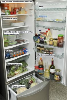 organizar geladeira