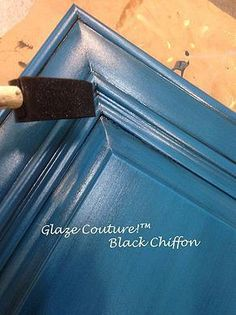 Paint Couture - Paint Couture is a beautiful acrylic paint for furniture and cabinets. Paint Couture goes on smooth and dries to a matte finish. Blue Kitchen Cabinets, Kitchen Paint, Kitchen Redo, Rustic Kitchen, Kitchen Design, Annie Sloan Kitchen Cabinets, Room Kitchen, Kitchen Remodel, Cabinet Furniture