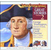 Great Stories Volume #2 - Audiobook on CD  4 Episodes on George Washington alone! :) ::::::::::::::::::::::::::::::::::::::::::::::::::::::::::::::::::::::::::: #RadioDrama, #Audiobook