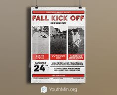 Youth Group fall kick off
