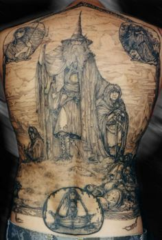 LOTR tattoo, so awesome