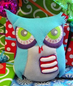 Zombie Owl - TOYS, DOLLS AND PLAYTHINGS