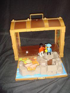 Maleta incompleta Playmobil cofre del tesoro!