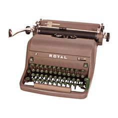 I pinned this Vintage Royal Typewriter II from the Better with Age event at Joss and Main!