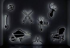 Neon Art by Daniel A. Bruce. | Yellowtrace — Interior Design, Architecture, Art, Photography, Lifestyle & Design Culture Blog.
