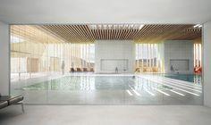 Swimming Pool Architecture, Luxury Swimming Pools, Natural Swimming Pools, Luxury Pools, Swimming Pool Designs, Natural Pools, Dream Pools, Indoor Pools, Lap Pools