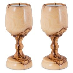 Olive WoodHeight: 11 cm / exquisite candlesticks are masterfully crafted from natural pure olive wood in a stylish wine glass design. The olive wood is beautifully deep stained and rad Wood Turning Lathe, Wood Turning Projects, Wood Lathe, Router Wood, Cnc Router, Chandeliers, Wine In The Woods, Wine Glass Designs, Lathe Projects