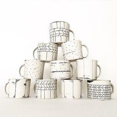 hopelessceramix:Mugs going to @northernclaycenter #muglife... (ArtPropelled)
