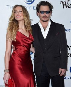 Johnny Depp reveals how he realised he'd fallen for Amber Heard - Celebrity Fashion Trends