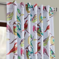 Best printed housefinch multi printed linen textured blackout curtain from our great selection, decor your home by blackout curtains at best prices. Silk Curtains, Blackout Curtains, Tropical Curtains, Floor Ceiling, Room Darkening Curtains, Printed Linen, Design Consultant, Different Patterns, Texture