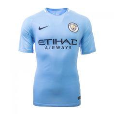 17-18 Manchester City Home Soccer Jersey Shirt Blackburn Rovers d463791ae