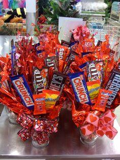 Valentine's Day candy boquet