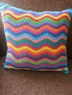 fundas para almohadas a crochet mas hermosas - Buscar con Google