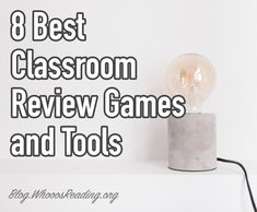 8 Best Classroom Review Games and Tools  #classroom #edtech #teahers #teacherstools #assessment #quizzes #reviewgames Games For College Students, Teacher Stools, Teaching Chemistry, Review Games, Educational Technology, Classroom, Activities, Reading, Blog