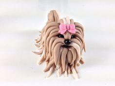How to Make a Fondant Shih Tzu Cupcake Topper