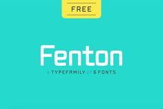 Fenton free font