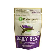 Pet Naturals Of Vermont Daily Best Multi-vitamin For Cats Chicken Liver - 45 Soft Chews